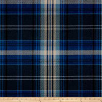 Ralph Lauren Home Brookhill Plaid Yarn-Dyed Basketweave Indigo