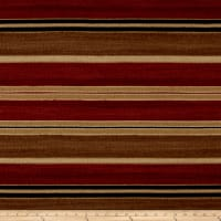 Ralph Lauren Home Sausalito Stripe Melton Red Earth