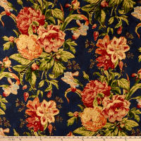 Waverly Kensington Bloom 100% Linen Gem