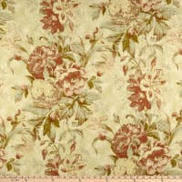 Waverly Kensington Bloom 100% Linen Amber