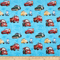 Disney Cars Car Toss On Map Blue
