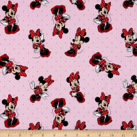 Disney Minnie Dot Dress Toss Pink