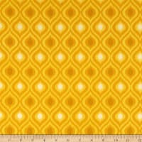 Springs Creative Tonal Ikat Golden Yellow