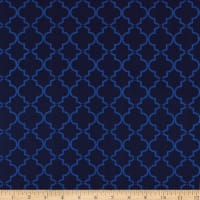 Springs Creative Tonal Lattice Blue