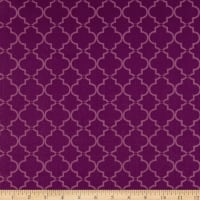 Springs Creative Tonal Lattice Purple