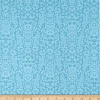 Springs Creative Valero Damask Aqua