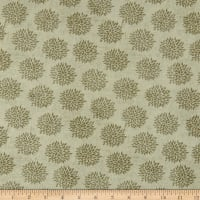 Springs Creative Indian Peacock Chrysanthemum Beige