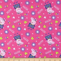 Peppa Pig Cotton Peppa Pig Toss Pink