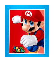 "Nintendo Super Mario Cotton Super Mario 36"" Panel Blue"
