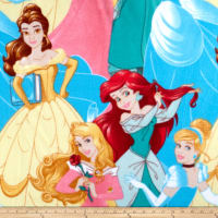 Disney Princess Princesses Packed Fleece Multi