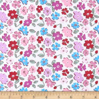 Springs Creative Princess Bear Floral Multi