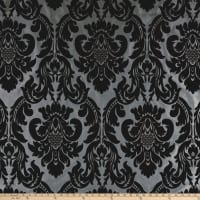 Flocked Velvet Dior Damask Combo