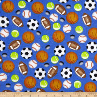 Sports Allover Flannel Blue