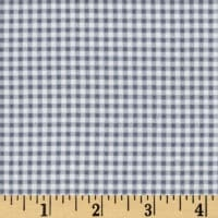 Gingham Flannel Grey