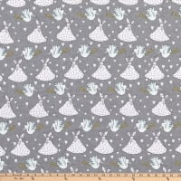Storks Flannel Grey
