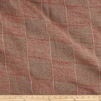 Blarney Plaid 100% Linen Strawberry