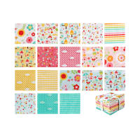 Riley Blake Bloom Where You're Planted Fat Quarter Bundle 21 Pcs. Multi