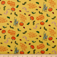 Riley Blake James And The Giant Peach Creature Yellow