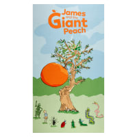 "Riley Blake James And The Giant Peach 24"" Panel Multi"