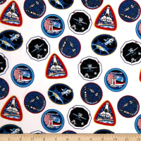 NASA Patches White
