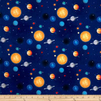 Riley Blake Out Of This World With NASA Planets Blue
