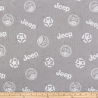 Riley Blake Lisc Collections-Jeep In The Wild Toss Gray