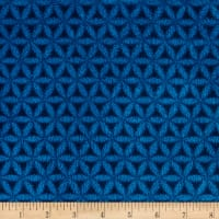 Plush Coral Fleece Lattice Blue