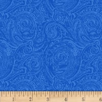 Henry Glass Blue Dream Two Tone Paisley Blue