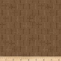 Henry Glass Tickled Pink Dot Weave Cocoa