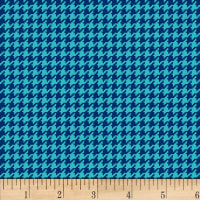 Henry Glass Cutie Tootie Houndstooth Blue