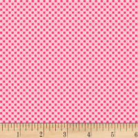 Henry Glass Cutie Tootie Small Dots Pink