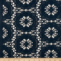 Medallion Lace Dark Teal