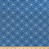 Henry Glass Fresh & Fab Kaleidoscope Blue