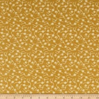 Henry Glass Home Sewn Daisy Stitches Butternut