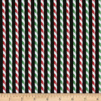 Patrick Lose Studio Santa's Stash Peppermint Sticks Red/Green