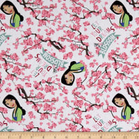 Springs Creative Disney Mulan Princess Mulan Dreams Blossom White