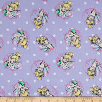 Springs Creative Disney Tink Fashion Tinkerbell Toss Lavender
