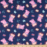 Springs Creative Entertainment One Peppa Pig Peppa By The Seaside Navy
