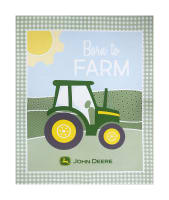 "Springs Creative John Deere Nursery Born To Farm 36"" Panel Multi"