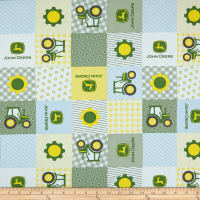 Springs Creative John Deere Nursery Born To Farm Patch Multi