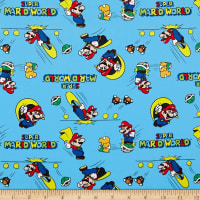 Springs Creative Nintendo Mario Retro Super Mario World Blue