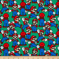 Springs Creative Nintendo Super Mario Packed Mario Green