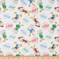 Springs Creative Disney Classics Ducktales Huey, Dewey & Louie Multi