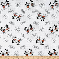 Springs Creative Disney Mickey & Minnie Vintage Nice Is Not The Same As Wimpy Multi