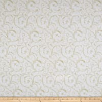 "Maywood Studio 108"" Beautiful Backing Elegant Scroll Ivory Lace"