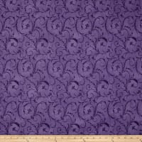 "Maywood Studio 108"" Beautiful Backing Elegant Scroll Amethyst"