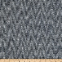 Richloom Olan Herringbone Yarn Dyed Woven Pacific
