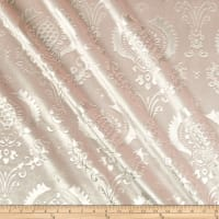 Embossed Velvet Damask Blush