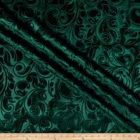 Embossed Velvet Scroll Forest