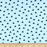Clothworks Little Super Hero Geo Light Teal